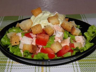 Как приготовить салат быстро и вкусно